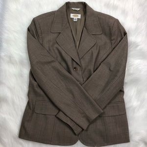 Talbots Light brown blazer